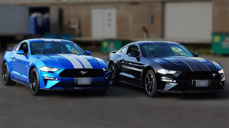 Ford Mustang - 2019 California Special Blue and Black - Stripes - Personal - Custom Racing Stripes cost