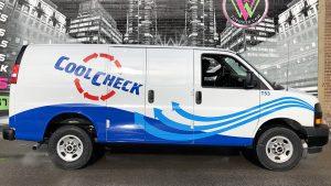 GMC - Savana - 2020 - Partial - CoolCheck - Van Wrap - Vinyl Wrap Toronto - vehicle wrap in GTA
