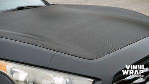 Infiniti FX50 - Partial Wrap - Carbon Fibre - Vinyl Wrap Toronto - Closeup -1 - Avery Dennison & 3M - Decals - Car Wrap in Brampton