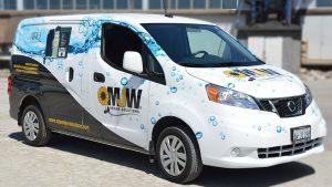 Nissan - NV200 - 2019 - Full - Metro Jet Wash - Van Wrap - Vinyl Wrap Toronto - Vehicle Wrap in Brampton