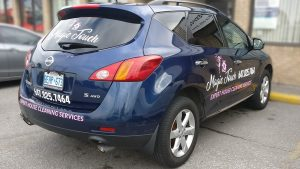 Nissan - Rogue - 2016 - Lettering and Decals - Magic Touch