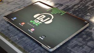 Object Wrap - Macbook Pro - Vinyl Wrap Toronto - DJ Joe - Custom Design - Equipment Wrap - GTA - Laptop wrap cost