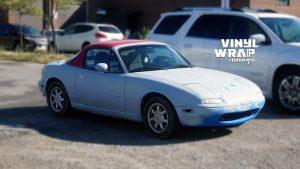 Mazda Miata 1990 - VinylWrapToronto.com - Full Wrap - Vinyl Wrap Toronto - Personal - Before - Avery and 3M vinyl wrap
