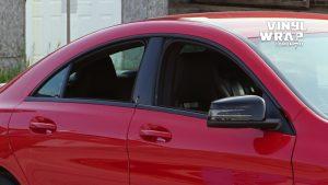 Mercedes Silva - VinylWrapToronto.com - Chrome Delete - Vinyl Wrap Toronto - Vehicle Wrap in GTA - After - Closeup