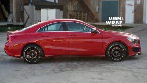 Mercedes Silva - VinylWrapToronto.com - Chrome Delete - Vinyl Wrap Toronto - Vehicle Wrap in GTA - Before - Side