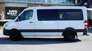 Mercedes Sprinter Bluetec 2015 - VinylWrapToronto.com - Vehicle Decals - Lettering - Vinyl Wrap Toronto - Promotional - Regal Marble -Side 2