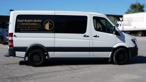 Mercedes Sprinter Bluetec 2015 - VinylWrapToronto.com - Vehicle Decals - Lettering - Vinyl Wrap Toronto - Promotional - Regal Marble - Side