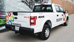nusens - Truck Decals in Etobicoke - Truck Lettering in GTA - VinylWrapToronto.com - Vehicle Wrap in Toronto - Vinyl Wrap Toronto - Custom truck decals near me