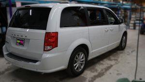 Dodge Caravan 2020 - Commercial Van Decals - VinylWrapToronto.com - The Salvation Army - Vinyl Stickers - Before