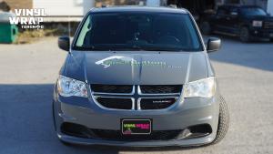 Dodge Caravan - Custom Full Van Wrap - VinylWrapToronto.com - Avery Dennison - Lettering & Decals - Best Car Wrap in Toronto - Front