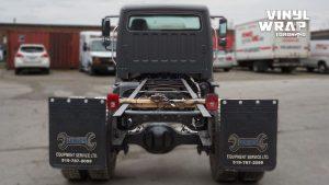 Freightliner M2 - 2020 - Full Truck Wrap - Lettering & Decals - Best Truck Wrap in Toronto - Vinyl Wrap Toronto - Back - Custom Truck Wrap in GTA - Avery and 3M vinyl