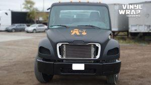 Freightliner M2 - 2020 - Full Truck Wrap - Lettering & Decals - Best Truck Wrap in Toronto - Vinyl Wrap Toronto - Front - Custom Wrap cost in GTA