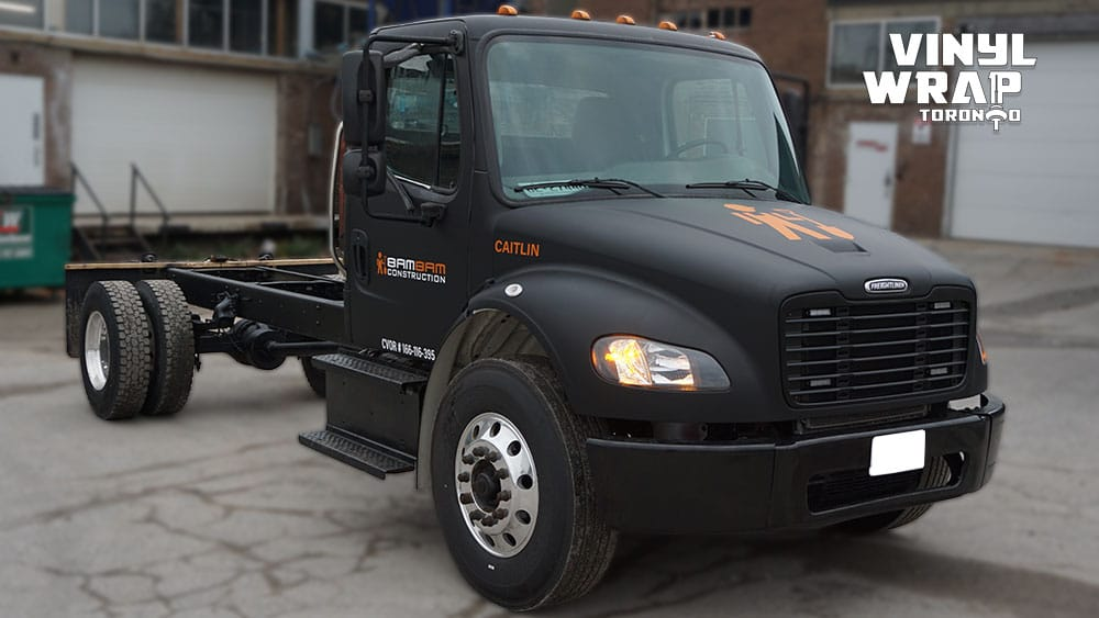 Freightliner M2 - 2020 - Full Truck Wrap - Lettering & Decals - Best Truck Wrap in Toronto - Vinyl Wrap Toronto - Custom vehicle wrap in GTA - Avery and 3M vinyl cost