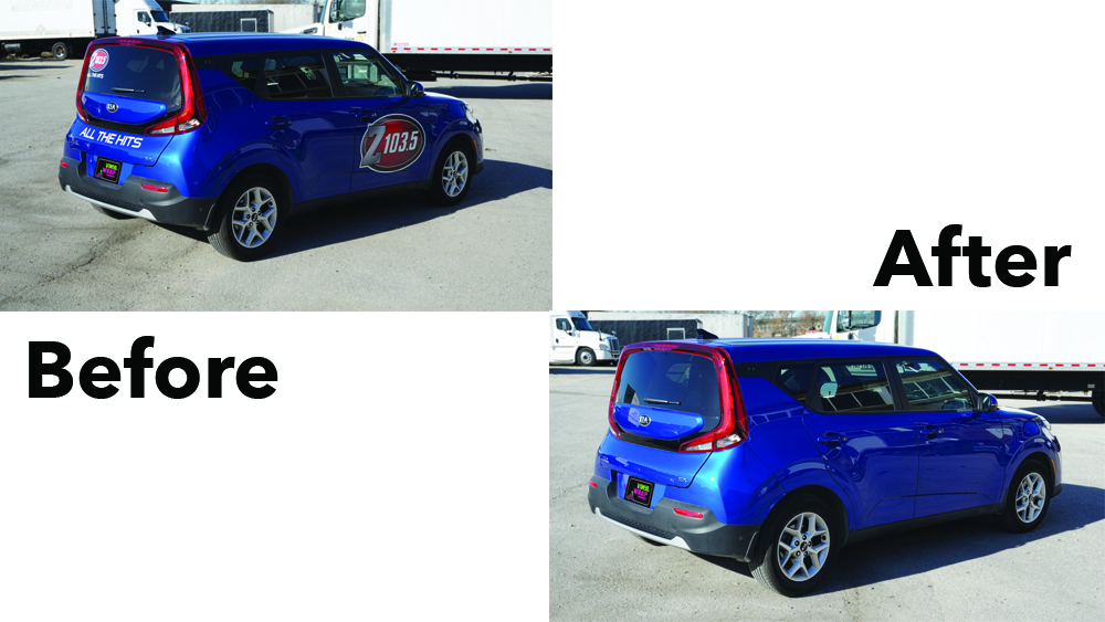 Kia Soul 2019 - VinylWrapToronto.com - Decal Removal - Vinyl Removal - Unwrap - Best Vehicle Wrap In Toronto
