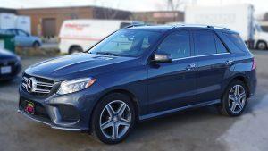 Mercedes GLE 350D - VinylWrapToronto.com - Racing Stripes - Vehicle Wrap - Decals - Car Wrap in Toronto - Before -