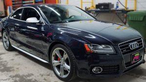 Audi A5 - Vinyl Decals - VinylWrapToronto.com - Best Vehicle Wrap in Toronto - After - Front Side