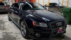 Audi A5 - Vinyl Decals - VinylWrapToronto.com - Best Vehicle Wrap in Toronto - Before
