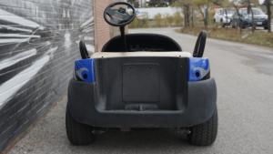 Clubcar - Golf Cart - Full Vinyl Wrap - Custom Design - VinylWrapToronto.com - Best Vehicle Wrap In Toronto - Avery Dennison - After - Back