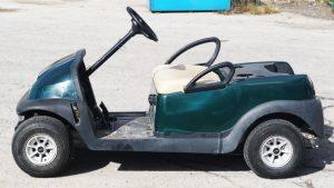 Clubcar - Golf Cart - Full Vinyl Wrap - Custom Design - VinylWrapToronto.com - Best Vehicle Wrap In Toronto - Avery Dennison - Before
