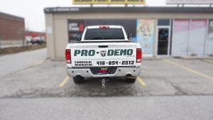 Dodge Ram 1500 - Vinyl Wrap Toronto - VinylWrapToronto.com - Truck Decals in Toronto - Avery Dennison - Back - Custom Truck decals