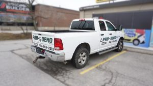 Dodge Ram 1500 - Vinyl Wrap Toronto - VinylWrapToronto.com - Truck Decals in Toronto - Avery Dennison - Side Back - Avery Dennison and 3M vinyl Wrap