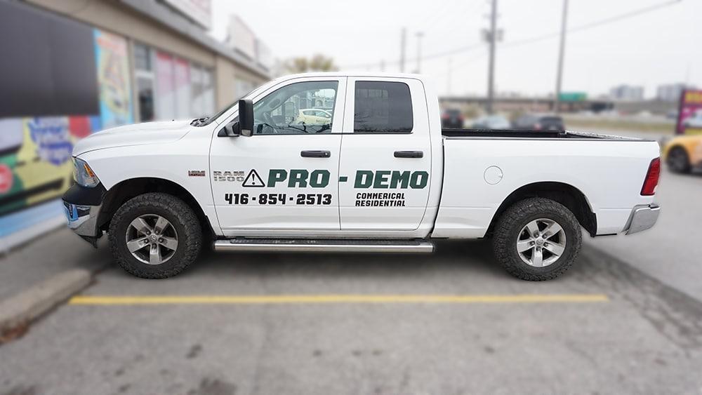 Dodge Ram 1500 - Vinyl Wrap Toronto - VinylWrapToronto.com - Truck Decals in Toronto - Avery Dennison - Side - vinyl decals cost