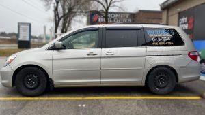 Honda Odyssey Minivan Van Decals - Commercial - Promotional - Avery Dennison - VinylWrapToronto.com - After - Side 2