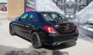 Mercedes C300 - Chrome Delete - VinylWrapToronto.com - Lettering & Decals - Avery Dennison & 3M - Back Side -