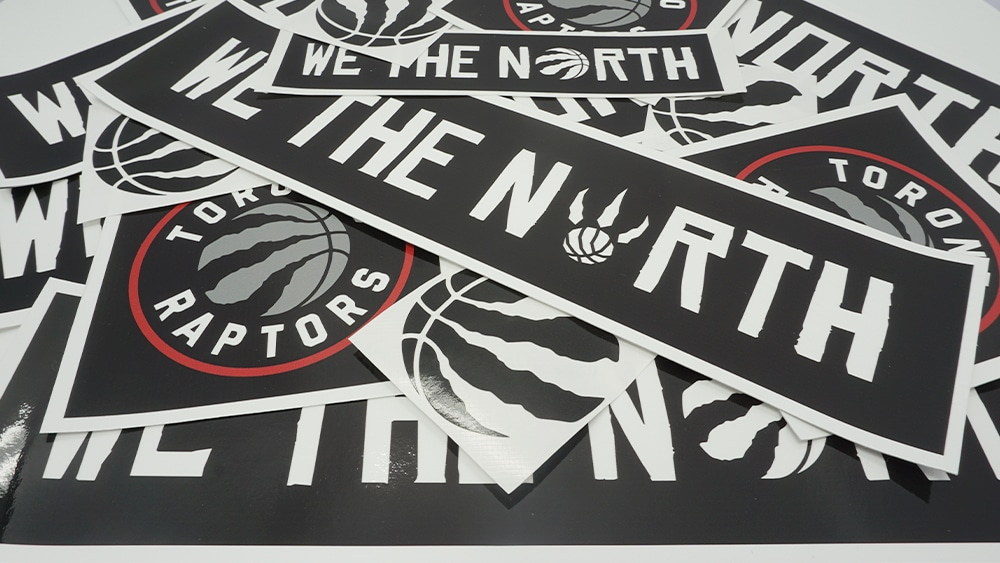 Toronto Raptors Black Lives Matter Stickers - Vehicle Decals - VinylWrapToronto.com - Free Stickers