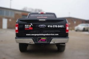 Ford F150 | Truck Decals | Commercial Decals | Vinyl Wrap Toronto | Best Vehicle Wrap in GTA | Back