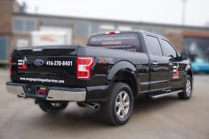 Ford F150 | Truck Decals | Commercial Decals | Vinyl Wrap Toronto | Best Vehicle Wrap in GTA | Side Back