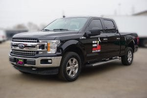 Ford F150 | Truck Decals | Commercial Decals | Vinyl Wrap Toronto | Best Vehicle Wrap in GTA | Front Side - 3M and Avery decals