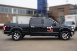 Ford F150 | Truck Decals | Commercial Decals | Vinyl Wrap Toronto | Best Vehicle Wrap in GTA | Side