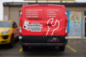 Ford Transit Wrap - Full Van Wrap - VinylWrapToronto.com - Vinyl Wrap Toronto - Custom Design - Avery Dennison - After - Back
