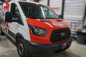 Ford Transit Wrap - Full Van Wrap - VinylWrapToronto.com - Vinyl Wrap Toronto - Custom Design - Avery Dennison - Before 2