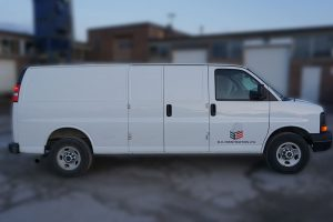 GMC Savana - Vehicle Decals - VinylWrapToronto.com - Lettering - Avery Dennison - Best wrap shop in Toronto - Side