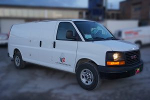 GMC Savana - Vehicle Decals - VinylWrapToronto.com - Lettering - Avery Dennison - Best wrap shop in Toronto - Front Side