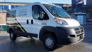 RAM Promaster Cargo Van-Partial-Van-Wrap-by Vinyl-Wrap-Toronto-vinylwraptoronto.com-avery-dennison-front-side-after