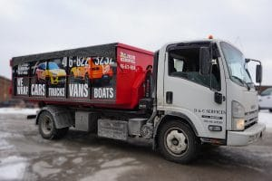 Disposal Bin - Custom Designed Vinyl Wrap - VinylWrapToronto.com - Avery Dennison - Side 2