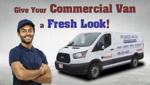 Ford Transit 150 XLT 2019 - Commercial Van Decals and Lettering - VinylWrapToronto.com - Avery Dennison - Cover