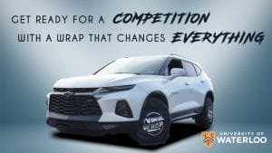 Chevy Blazer 2019 - Full Vehicle Wrap - Colour Change - University of Waterloo - VinylWrapToronto.com - Vinyl Wrap Toronto - After - Cover
