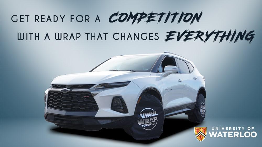 Chevy Blazer 2019 - Full Vehicle Wrap - Colour Change - University of Waterloo - VinylWrapToronto.com - Vinyl Wrap Toronto - After - Cover
