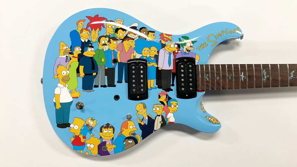 Guitar-Wrap-Object-Wrap-Vinyl-Wrap-Toronto-Equipment-Wrap-The-Simpsons-Custom-Design-Mississauga