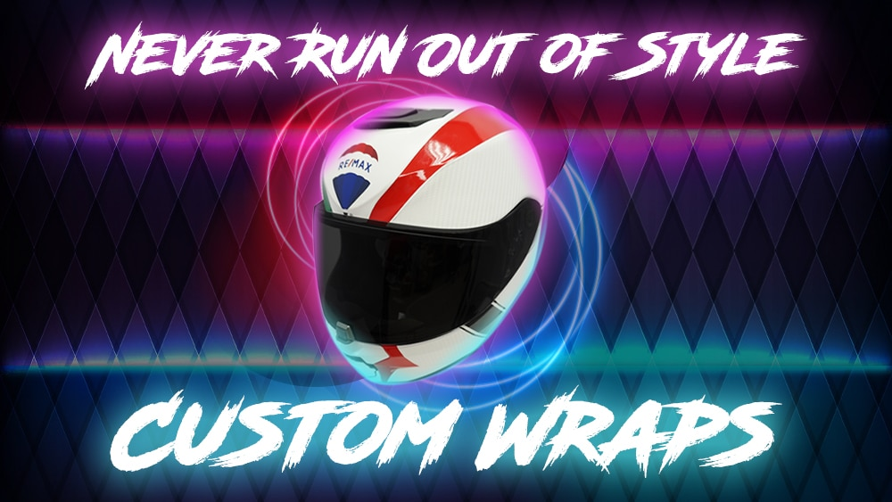 Object Wrap - Personalize your Objects with a vinyl wrap - VinylWrapToronto.com - Avery Dennison - Helmet Wrap