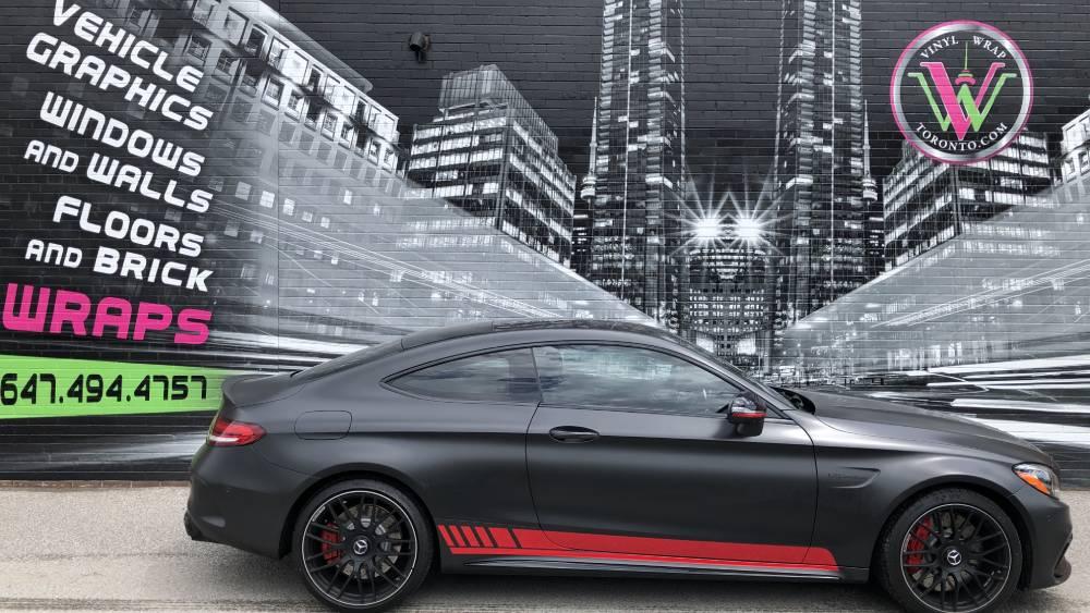 DIY Stripe Installation vs Professional Installation - Red Racing Stripes - Vinyl Wrap Toronto - Vehicle Wrap
