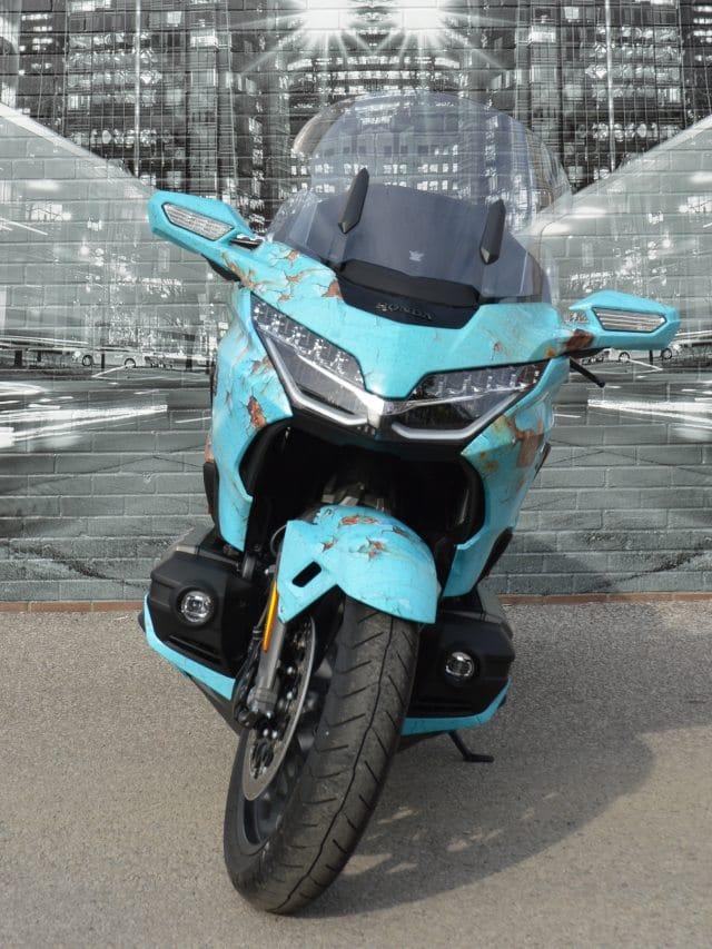 Honda Goldwing Motorcycle Wrap - Vinyl Wrap Toronto - Vehicle Wrap Cost