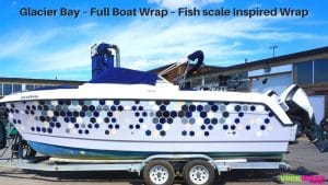 Glacier Bay – Full Boat Wrap – Fish scale Inspired Wrap - Banner