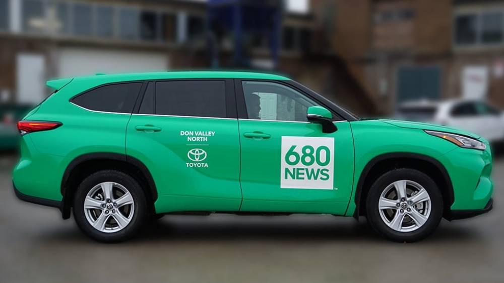 680 News Car Wrap