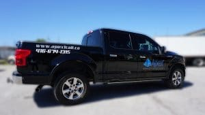 Apex Construction - Decals & Lettering - Vinyl Wrap Toronto - Right Side