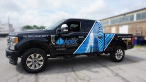Apex Construction - Decals&Lettering - Toronto